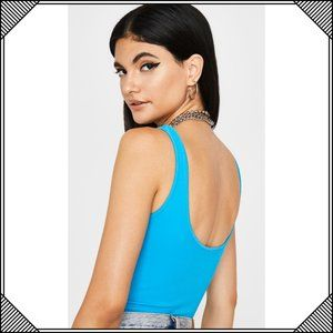 Dynamic Tops - * Dynamic Seamless Apparel Blue One Piece Bodysuit